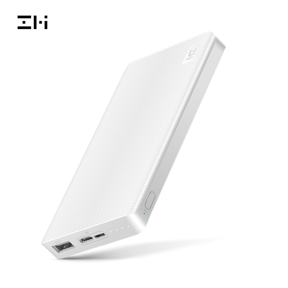 ZMI QB810 PowerPack 10K, the Smallest and Lightest 10000mAh Battery Pack Fast Charging Portable Charger Ultra-Compact Power Bank