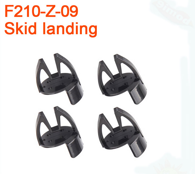Walkera F210 RC Helicopter Quadcopter spare parts F210-Z-09 Tripod Skid Landing 1 Walkera F210 RC Helicopter Quadcopter spare onn w6 bluetooth hifi music mp3 player 8g storage with earphones