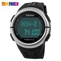 SKMEI 1058นาฬิกาดิจิตอลผู้ชายกีฬานาฬิกาH Eart Rate Monitorกันน้ำRelógio Masculinoนาฬิกาบุรุษยอดนาฬิกาแบรนด์หร