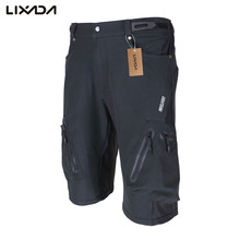 Lixada Cycling Shorts MTB Mountain Downhill Bike Breathable Loose Fit For Outdoor Sports Running Bicycle Shorts casco ciclismo