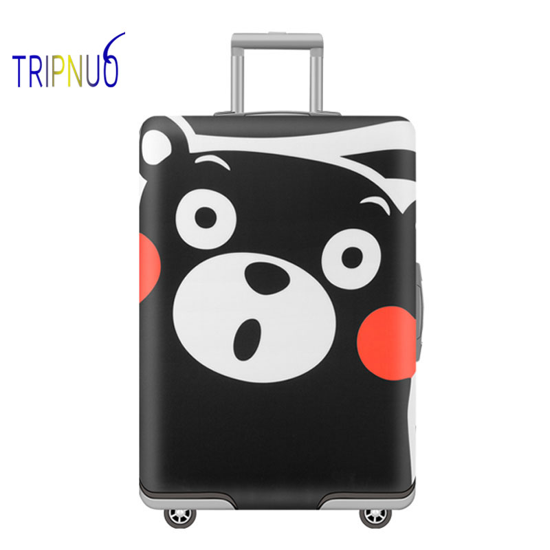 TRIPNUO Elastic Bus Luggage Protective Cover For 19-32 Inch Trolley Suitcase Protect Dust Bag Case Travel Accessories