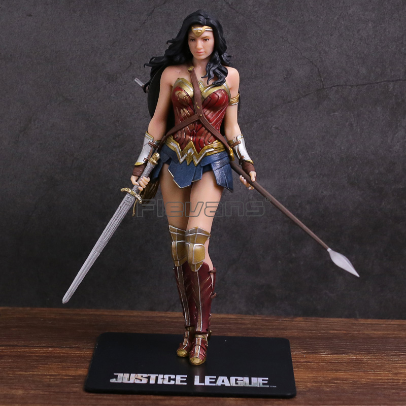цена на ARTFX + STATUE Justice League Wonder Woman 1/10 Scale Pre-Painted Figure Collectible Model Toy