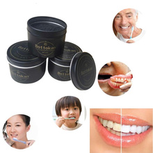 Oral Tooth Care High Quality Black Teeth Whitening Powder Carbon Organic Charcoal Teeth Whitening Powder Natural Tooth Polish