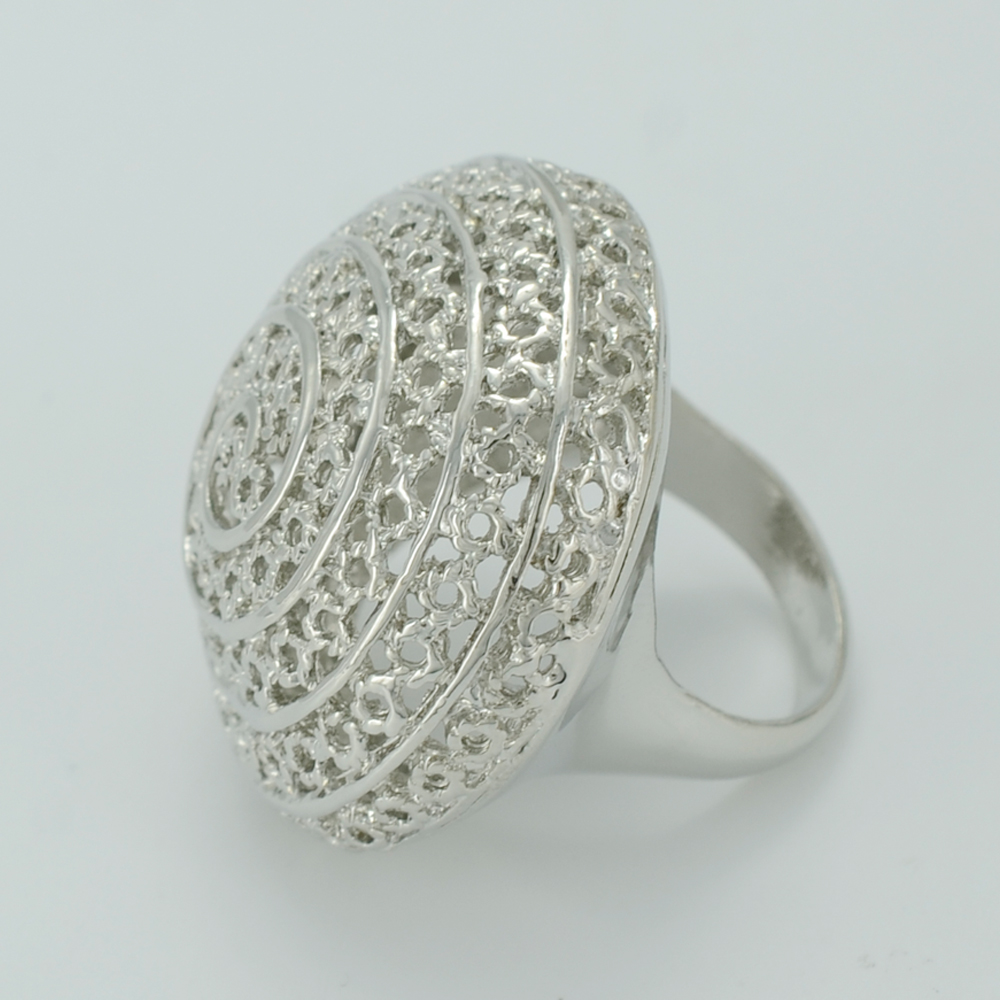Anniyo African Ring For Women Dark Silver Color Ethiopian Wedding Rings Jewelry Nigeria Brazil Arab Cuba Sudan 003711 In Bands From
