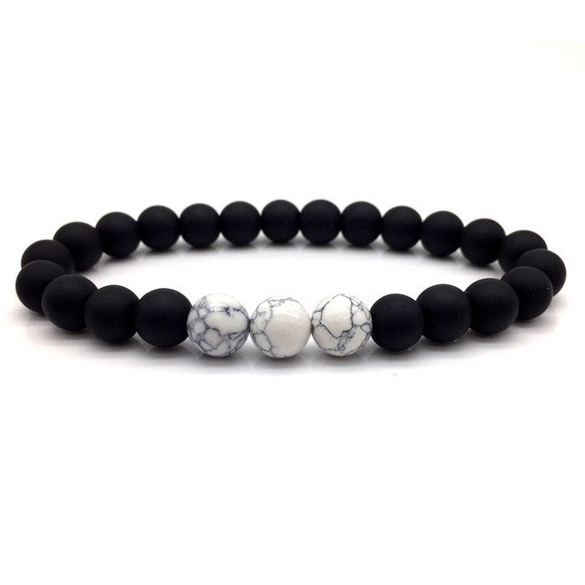 Fashion New 2018 Bead Bracelet Men Clic Beads Charm Bracelets Bangles For Accessories