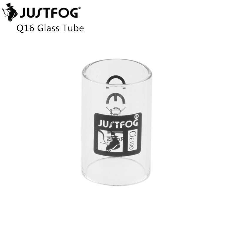 Original Justfog Q16 Tank Glass Tube Replacement Pyrex Glass Tube For Justfog Q16  Atomizer Vape Pen Kit Glass Tube
