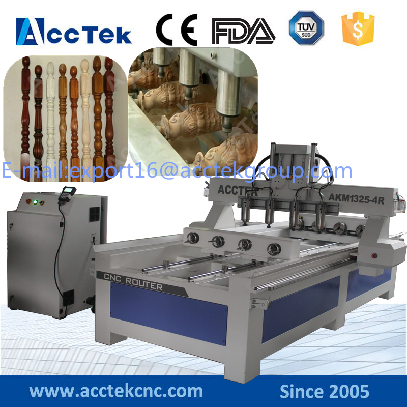 Cnc Multi Spindle 3 Axis Engraving Machine Wood Carving Cnc Router Machine For Sale