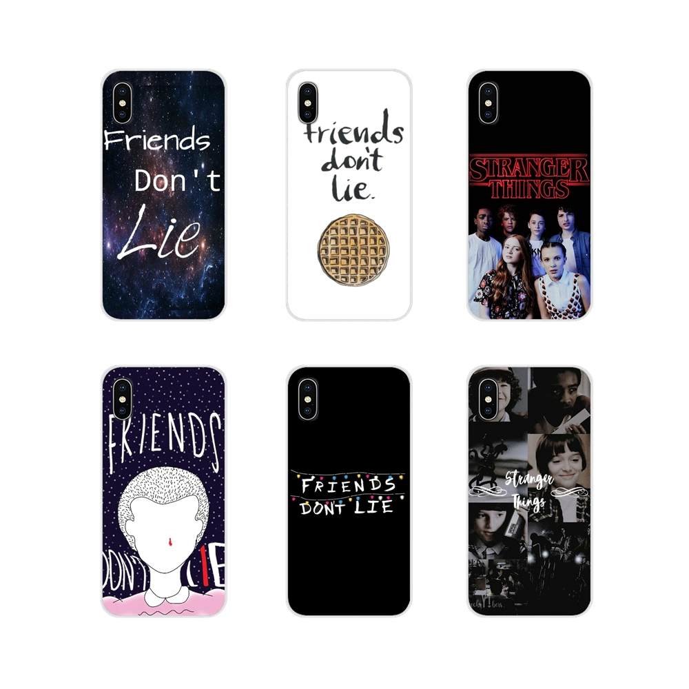 For Samsung A10 A30 A40 A50 A60 A70 Galaxy S2 Note 2 3 Grand Core Prime stranger things friends do not lie Silicone Cases Covers image