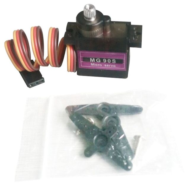 1pcs RC Micro 9g Servo Metal Gear For Arduino robot Align Trex 450 RC Helicopter Airplane