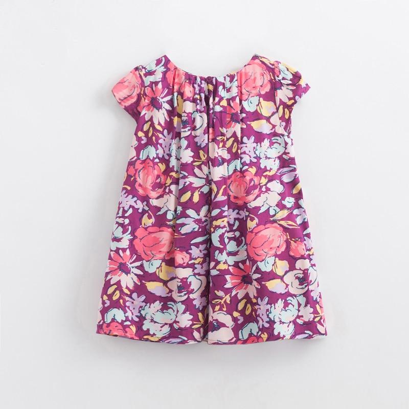Baby κορίτσια φόρεμα 3-6Y Floral εκτύπωση - Παιδικά ενδύματα - Φωτογραφία 4