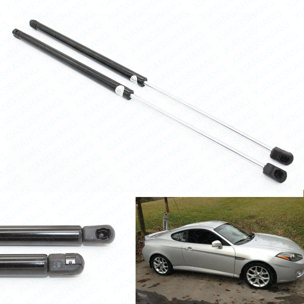 2pcs Auto Rear Tailgate Gas Charged Struts Lift Support For Hyundai Tiburon 2003-08 FOR Mitsubishi Endeavor 2004-2011 20.87 inch2pcs Auto Rear Tailgate Gas Charged Struts Lift Support For Hyundai Tiburon 2003-08 FOR Mitsubishi Endeavor 2004-2011 20.87 inch