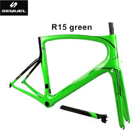 Carbon Road Frame T1000 Frame Fork Seatpost Clamp Headset Carbon Bike Frames China PF30 700C Cadre