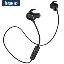 JESBOD QY19 AptX música Estéreo MP3 Sport Wireless Bluetooth 4.1 Auricular inteligente fone de ouvido Auriculares de Control de Mic Llamadas