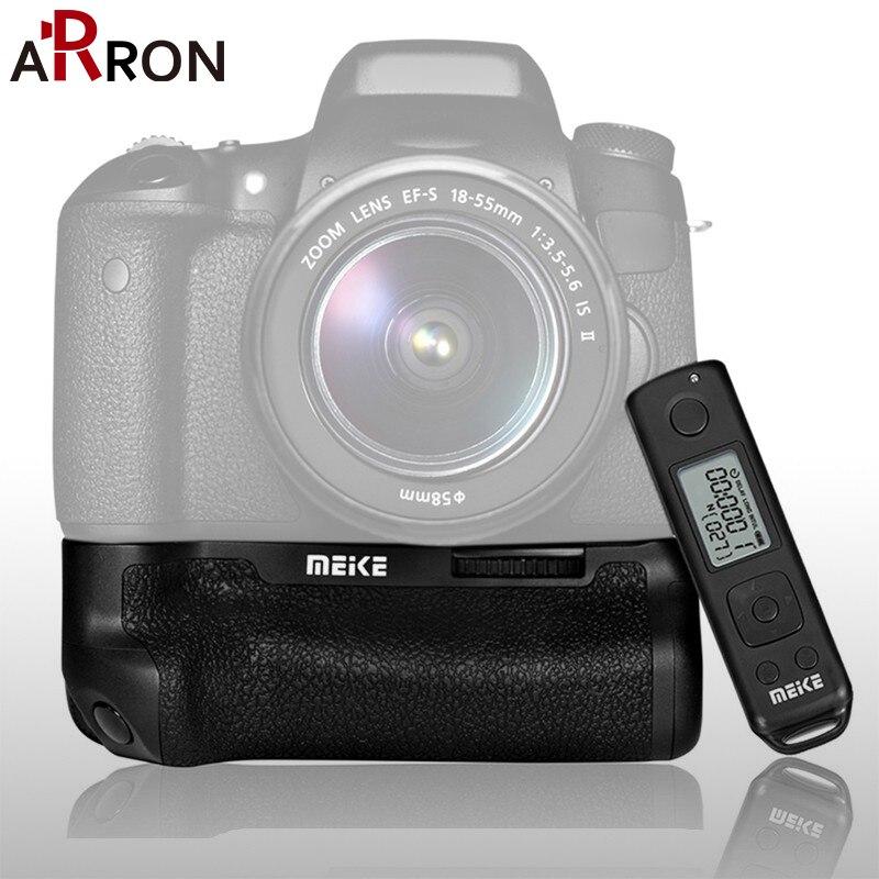bilder für Meike heißer mk-760d pro vertikaler batterie-griff ersatz für canon 760d 750d dslr kamera mit lcd drahtlose fernauslöser