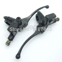Black 7 8 Hydraulic Master Brake 22mm Cylinder Clutch Lever For Suzuki Harley Dirt Bike ATV