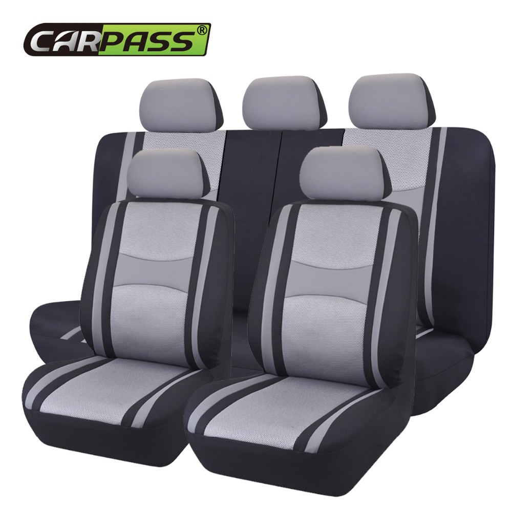 Grey Leather Look Car Seat Covers Cover For Suzuki Swift Sport 5DR 2012-2016