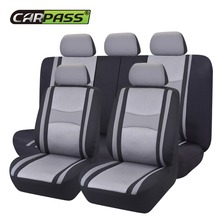 Car-pass Automobiles Full Set Car Seat Cover Universal Fit Auto Interior Accessories Protectors Styling For Lada Polo