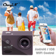 4 K Ultra HD WIFI Action Camera 2-calowy Ekran LTPS 30 M Wodoodporny Underwater Camera Sport HD DV Sport Pro kamera-PJ
