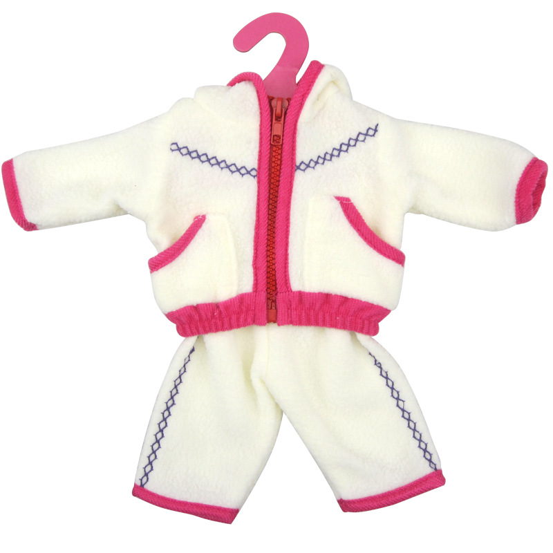 Variety-of-multi-color-leisure-suits-Clothes-for-45cm-American-girl-and-Zapf-baby-born-doll-accessories-3