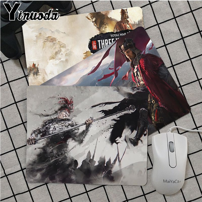 Maiya Total War Three Kingdoms Silicone Pad to Mouse Game Rubber PC Computer Gaming mouse pad image