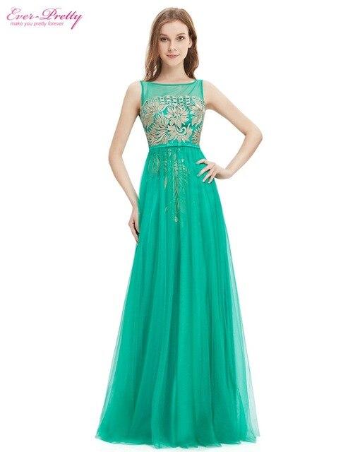 Lace Elegant Plus Size Prom Dresses Ever Pretty He08766tq Long Green