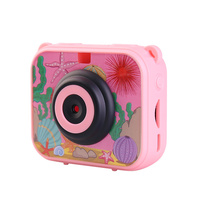 High Quality Mini Kids Digital Camera Waterproof 30M 1080P Video 120D Camera Recoder Camcorder Gift For children Easy use