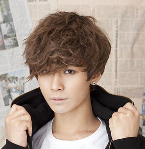 free shipping hot style handsome boys wig korean fashion