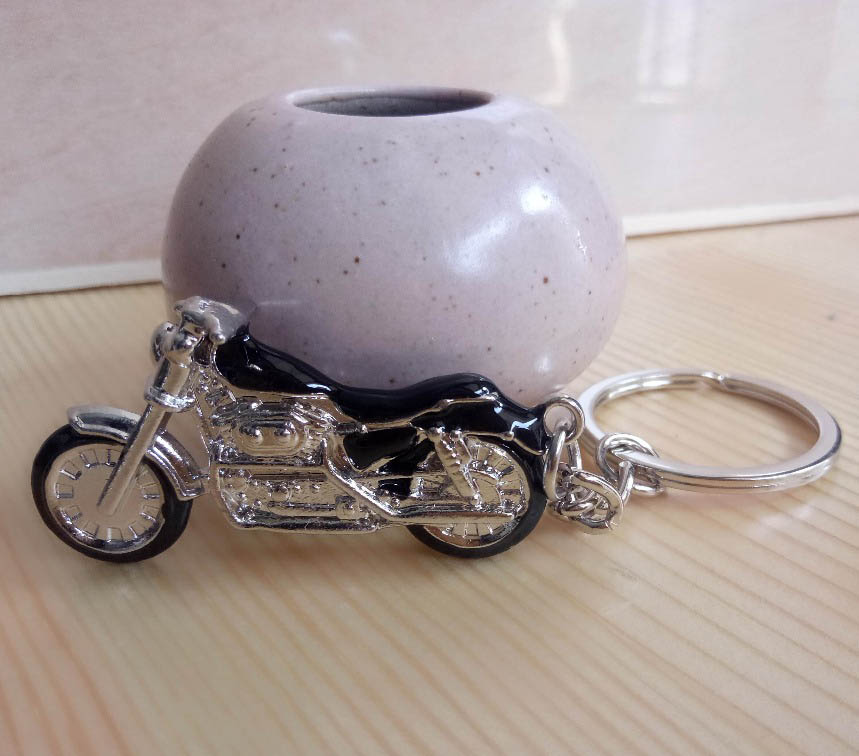 New Motorcycle Key Chain Charm metal keychain men women Car Key Ring 4 color key holder best gift jewelry цены онлайн