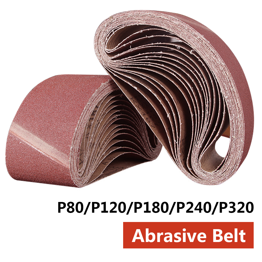 Tools Humor Sanding Belts 533x75mm 80-320 Grits Sandpaper Abrasive Bands For Sander Power Rotary Tools Dremel Accessories Abrasive Tool