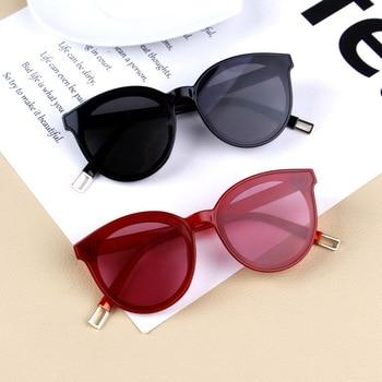 fashion vintage cat eye kids sunglasses ...