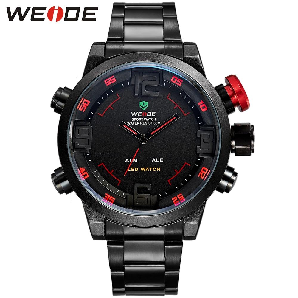 Hot WEIDE font b Watches b font Men s Casual font b Watch b font Multi