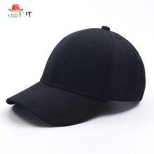 2019 Spring, Summer, Autumn Solid Color Men and Women Baseball Caps Outdoor Visor Baseball Hat Dad Hat Snapback Hats chic solid color corduroy baseball hat