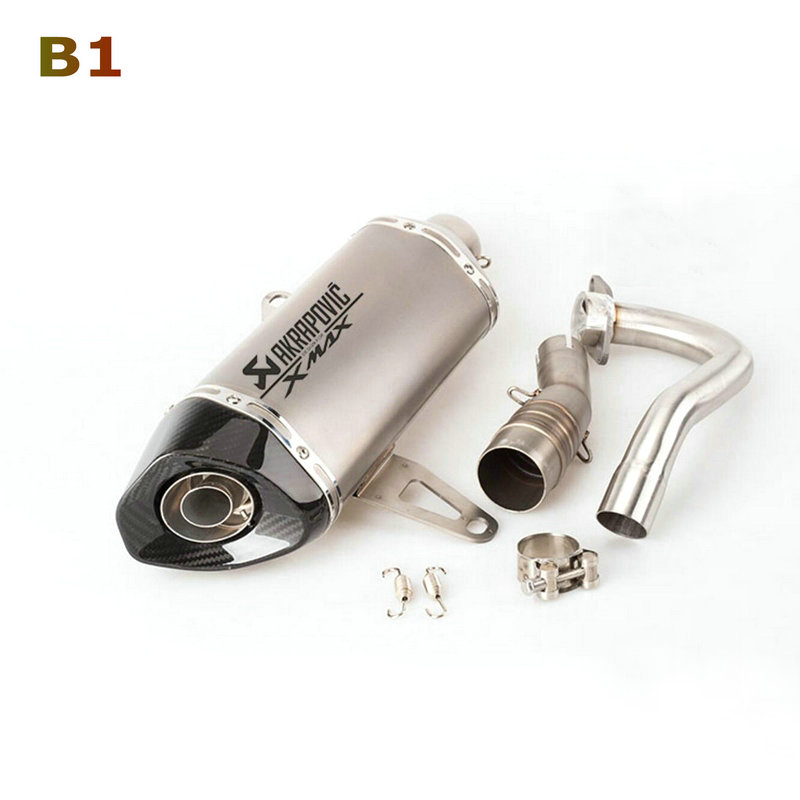 Image 5 - Akrapovic exhaust motorcycle Xmax 250 Modified Exhaust Muffler Xmax 300 Slip On For YAMAHA Xmax Series Scooters 2017 2019-in Exhaust & Exhaust Systems from Automobiles & Motorcycles