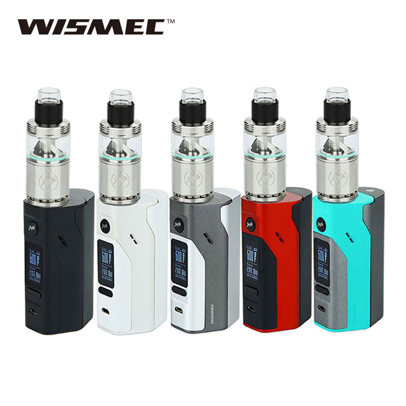 Original 200W Wismec Reuleaux RX2/3 Mod with Wismec Cylin RTA Atomizer 3.5ml E-cig Kit rx23 Mod and Cylin RTA Tank Vape Kit