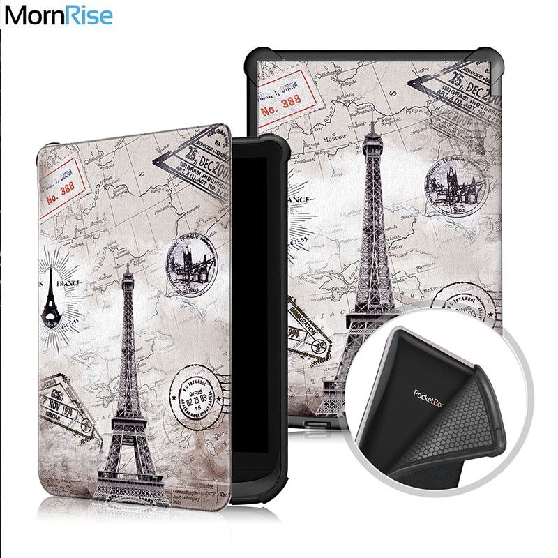 >Premium Magnetic Smart Cover for Pocketbook 627 616 632 Case Fundas For Touch Lux <font><b>4</b></font> <font><b>Basic</b></font> Lux 2 Touch HD 3 eBook Tablet Case