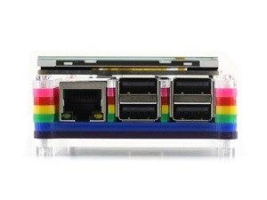 Image 5 - 4 дюймовый сенсорный экран TFT LCD для Raspberry Pi 4 дюймовый RPi LCD (C) 125 МГц высокоскоростной SPI резистивный сенсорный 480x320 Аппаратное Разрешение