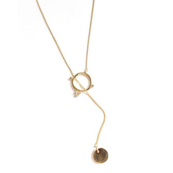 Cute Necklace Movie Star Style 3 Colors Gold-Color South Korea Temperament Collarbone Chain Necklace for Women chain