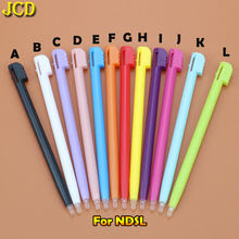 JCD 1pcs 12 Color Game Console Plastic Touch Screen Stylus Pen For Nintend DS Lite NDSL Game Accessories(China)