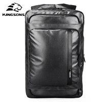 Kingsons модная Мужская мягкая сумка для путешествий, одноцветная многофункциональная мужская сумка мессенджер, Мужская водонепроницаемая су