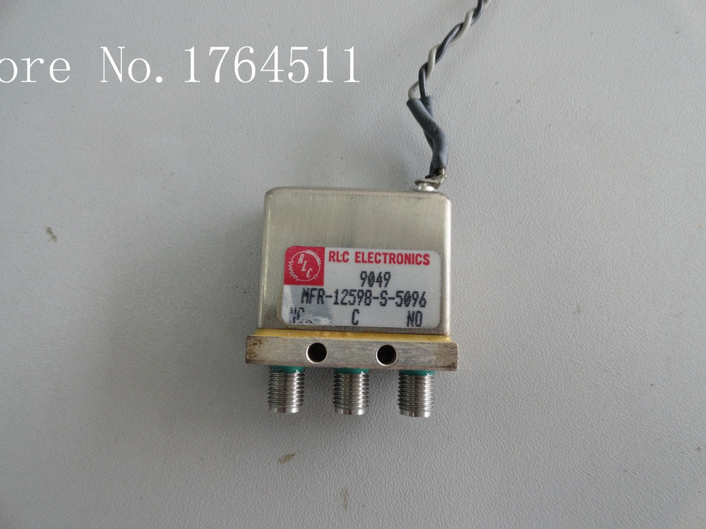 [BELLA] RLC MFR-12598-S-5096 DC-18GHZ SPDT 28V  --2PCS/LOT
