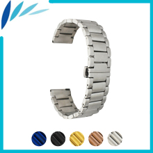 цена на Stainless Steel Watch Band 16mm 20mm  22mm for Tissot 1853 Butterfly Buckle Strap Quick Release Wrist Belt Bracelet + Spring Bar