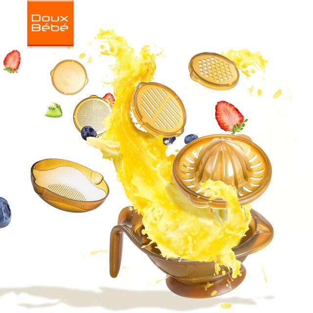 Baby Food Grinder Grinding Bowl Baby Feeding Set Fruit Feeder Processor Cook For Infant Kids Subsidiary Fruit Food Grinding Tool