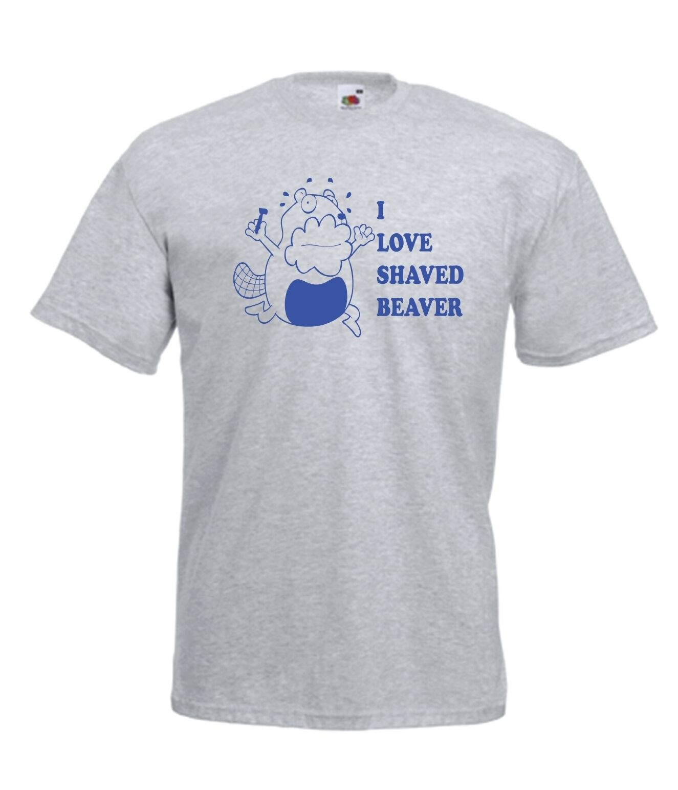I LOVE BEAVER funny rude xmas birthday gift idea mens womens adult T SHIRT TOPFashion Style Men T Shirts 100% Cotton Classic