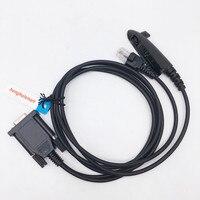 Com-anschluss 2 in 1 muilt funktion programmierkabel für motorola gp328, gp338, gp340 walkie talkie GM338, GM3188, usw. auto radio