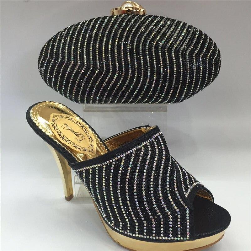 Sac Nigérian Italiennes Et Africaines Femmes Assortis kaki Sacs Royal pourpre Mariage De Les Avec bleu Set Ensembles Noir gris Foncé Chaussures rouge Tt100832 xdFw8vx