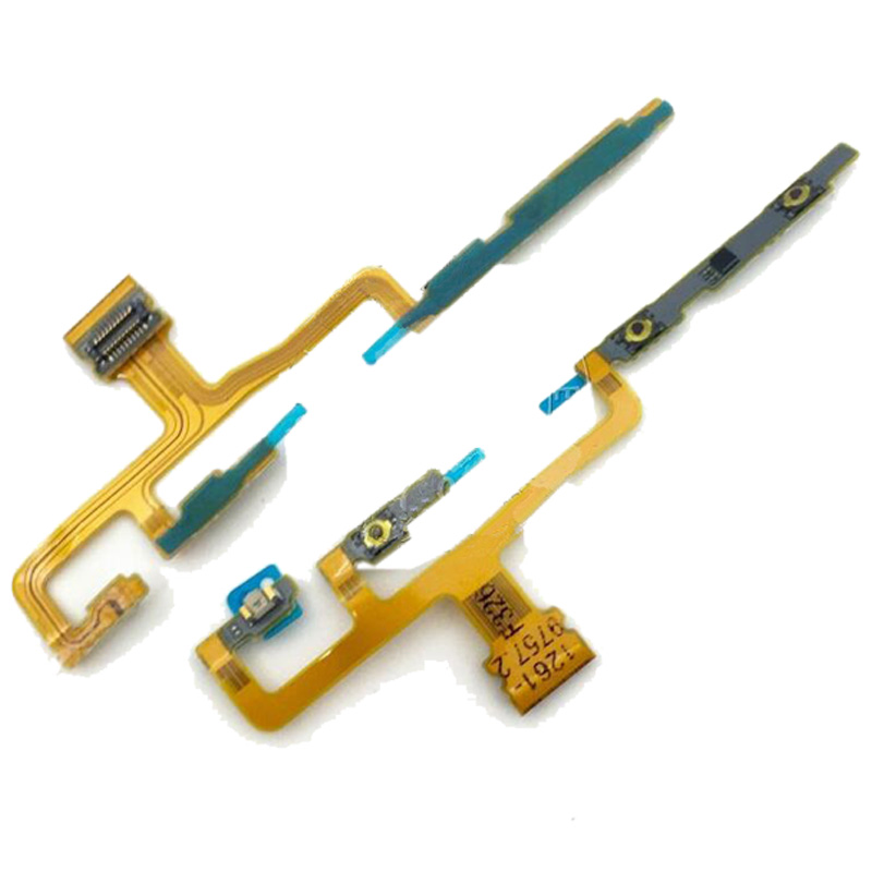 Power ON/OFF Switch Flex Cable For Sony Xperia ZL L35H C6502 C6503 C6506 Volume Button Flex Cable & Infrared Light Flex Cables