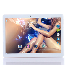 Android 7.0 10.1 inch MTK Tablet PC 3G4G LTE dual card  personal computer 10Core 4GB memory 64GB Bluetooth Wifi FM Capacitive Sc