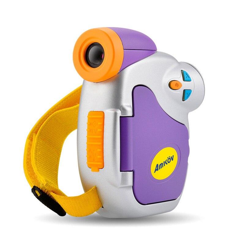 1.5 Inch Color Display Mini Children Kids Camera 5 Megapixel High-definition Network Camera Digital Photo Camcorder