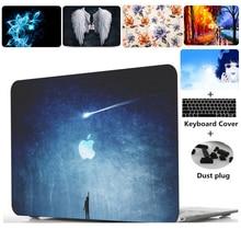 цена 2019 New Laptop Hard Shell Case Keyboard Cover Skin Set Bag For 13 15