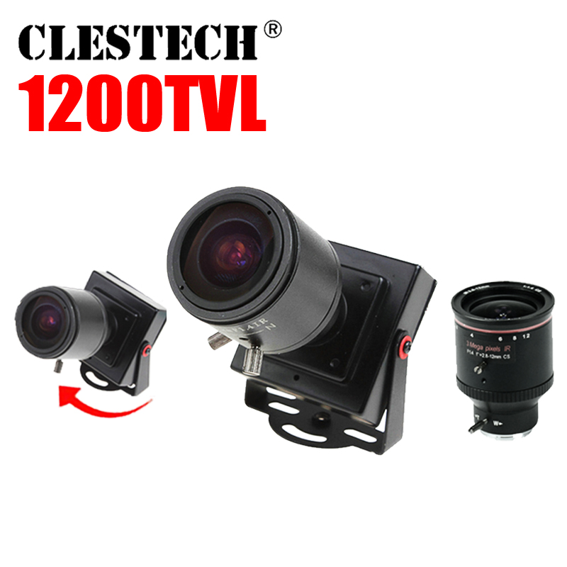 3.28 Mini Zoom Camera 2.8mm-12mm 1200TVL HD Zoom Mise au point - Sécurité et protection - Photo 3